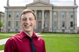 Derek Heckman, UI's First Beinecke Scholar