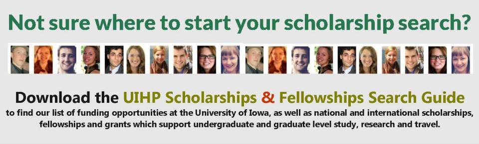 Not sure where to start your scholarship search header - Fall 2013