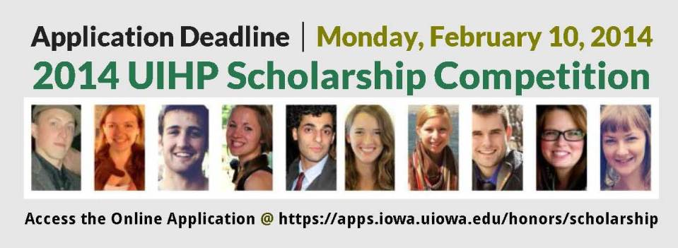 Announcing the 2014-2015 Scholarship Competition Website Header