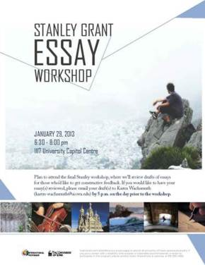 Stanley  Grant Essay Workshop