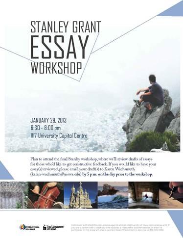 Stanley  Grant Essay Workshop